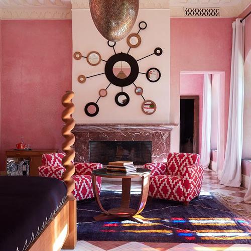 Une chambre comme dans un Riad