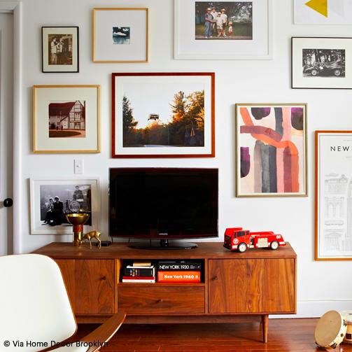 Un meuble TV chiné ? Oui, c'est possible.