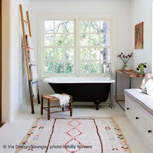Mon tapis de salle de bain hors du commun